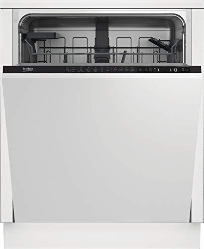 BEKO Waschtisch DIN26421 INTEGRABLE 6PROG A+, 2100 W, 11 Liter, 46 Dezibeles, Panelable