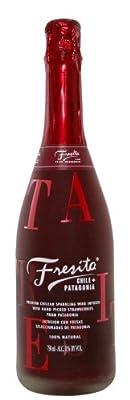 Fresita Sparkling Wine with Strawberries, Chile - 750ml