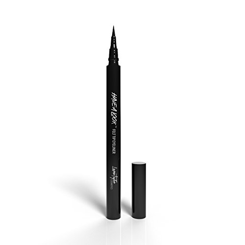 Lauren Taylor Cosmetics Liquid Eyeliner - Waterproof - Black - Easily Lasts All Day - Create Precise Fine or Bold Lines for Any Style
