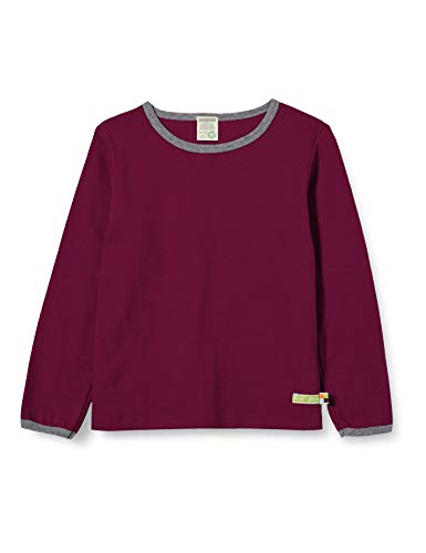 loud + proud Kinder-Unisex T-Shirt, Plum, 86/92