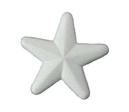 italveneta pédagogique 9042 – Set 13 étoiles en polystyrène, Hauteur 150 mm Blanc