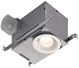 Broan-NuTone 744 744NT, 70 CFM 75-Watt, Recessed Fan and Light