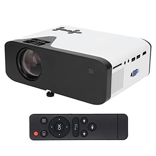 Mini Proiettore HD, Proiettori Portatili per la Casa, Videoproiettore Bluetooth con Telecomando Proiettore Intelligente 1080P Home Theater per Una Migliore Esperienza Visiva Lettore Multimediale(EU)