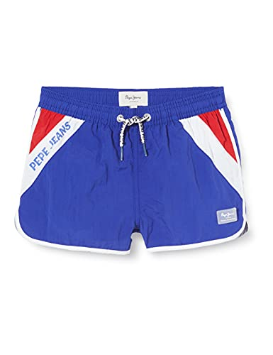 Pepe Jeans TOMEU Costumi da Bagno, 593royal Blue, 8 Bambino