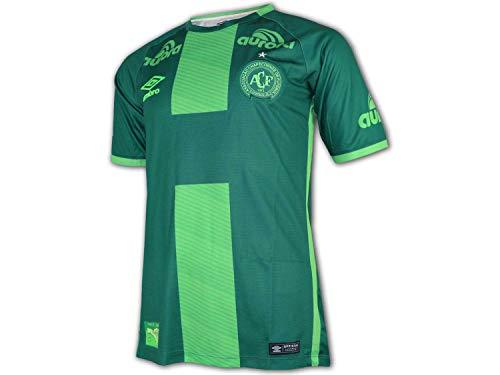 UMBRO Chapecoense 3rd Jersey 2017/18 grün Fußball Liga Brasilien Shirt Trikot, Größe:XL