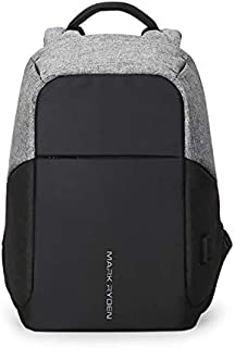 Markryden Anti-theft Laptop Backpack Business Bags with USB Charging Port School Travel Pack Fits Under 15.6 Inch Laptop(Contrast Color 2.1)