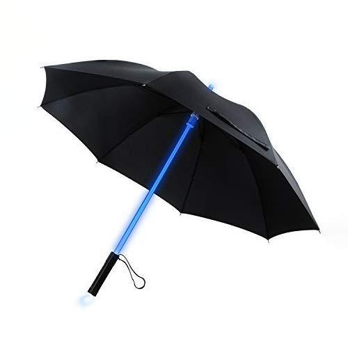 LED Stick Umbrella YIER Lightsaber Light Up Umbrella 7 Color Changing Golf Umbrellas Umbrella Windproof Umbrella Kids Men