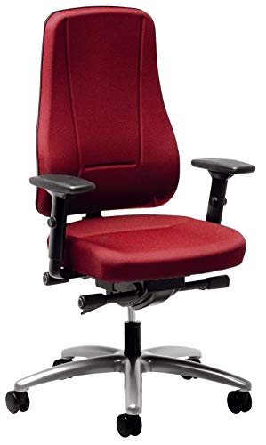 Preisvergleich Produktbild Bürodrehstuhl Younico Pro 2456 rot