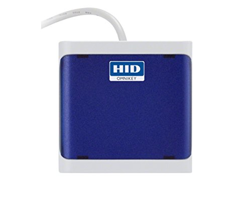 Omnikey 5022 CL USB Smart Card Reader (Blue)