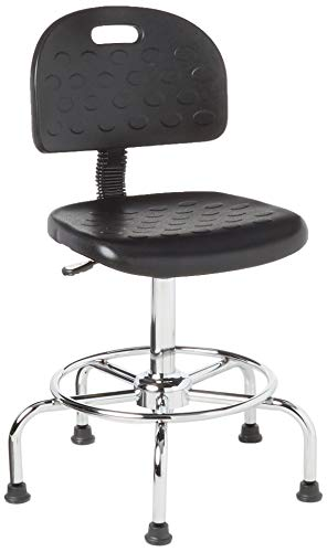 Safco Products 6950BL WorkFit Economy Industrial Chair (Additional options sold separately), Black