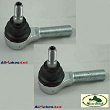 LAND ROVER BALL JOINT DRAG LINK TIE ROD END SET x2 DISCOVERY 2 II RANGE P38 QFS000010 ALLMAKES4x4