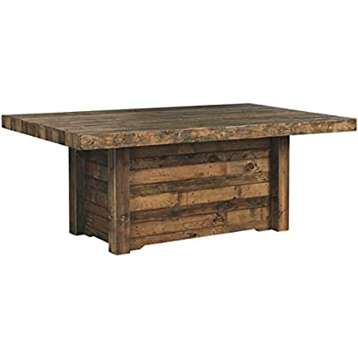 Amazon Com Rustic Farmhouse Dining Table