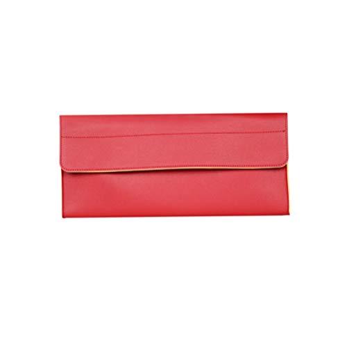 Lioobo Bolsa de armazenamento portátil para secador de cabelo, bolsa de armazenamento para secador de cabelo, bolsa de armazenamento compatível com secador de cabelo Dyson (vermelho)