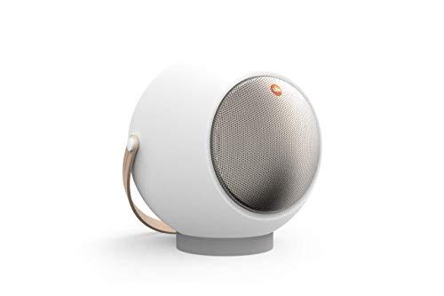 UB+ Eupho E2 Bluetooth-Lautsprecher, Ultraleicht, bis zu 30 Stunden Wiedergabe, TWS (Paar), HD-Sound, 95bd Lautstärke, klares Audo und tiefes Bass, kurzes Beinstativ – Pastellrosa