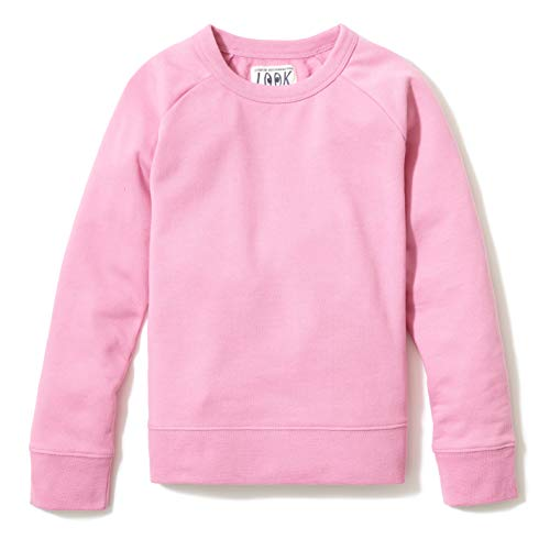 LOOK by Crewcuts Mädchen Crewneck Raglan fashion-sweatshirts,rose, S