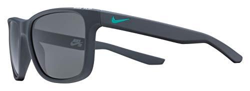 Nike EV0990-061 Flip Sunglasses (Frame Grey Lens), Matte Anthracite