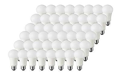 TCP 60 Watt A19 LED Non-Dimmable Light Bulbs