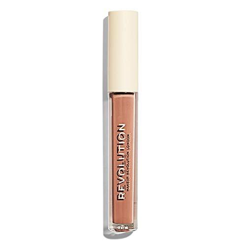 Makeup Revolution - Flüssiger Lippenstift - Nudes Collection Matte - Undressed