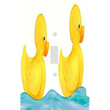 Swimming Rubber Duckies Decorative Switchplate Cover