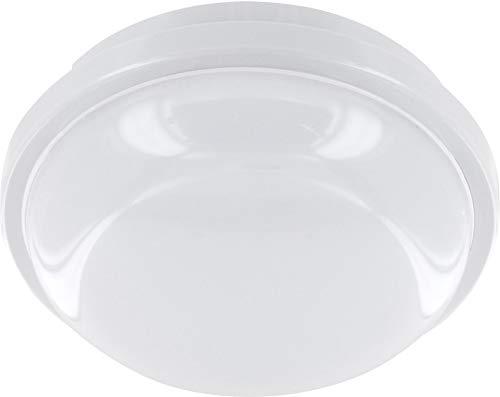 Plafonnier LED 15 W IP65 IK08 – 1200 lm – Ø 167 x 62 mm – Blanc chaud (3000 K)