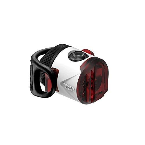 Lezyne Femto Rücklicht für Fahrrad/Mountainbike, LED, wiederaufladbar, USB, Unisex, Erwachsene, Weiß, Einheitsgröße (Größe Hersteller: T.One Size)