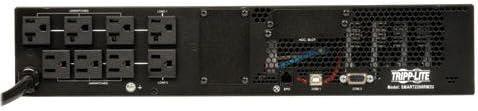 Tripp Lite - SMART2200RM2U - Tripp Lite SmartPro SMART2200RM2U 2200VA Rack-mountable UPS - 2200VA/1920W - 5 Minute Full Load - 4 x NEMA 5-15R, 4 x NEMA 5-15/20R