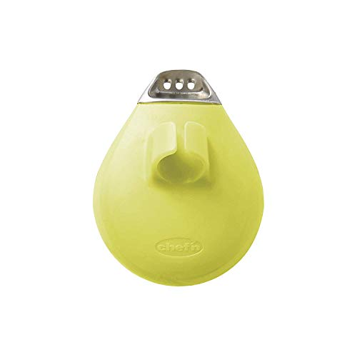 Chef'n PalmZester Palm-Sized Lemon Zester, Green, 9 x 7.5 x 4 cm