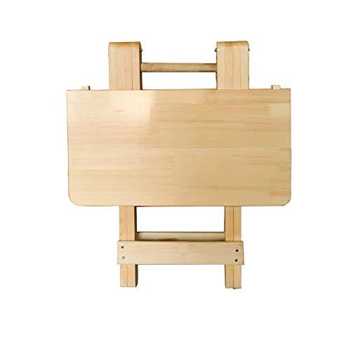 MYANG Neto del árbol de la Sencilla Mesa Plegable portátil de Mesa portátil de casa de Apartamentos pequeña habitación de Alquiler de Plaza de Aprendizaje Mesa Redonda