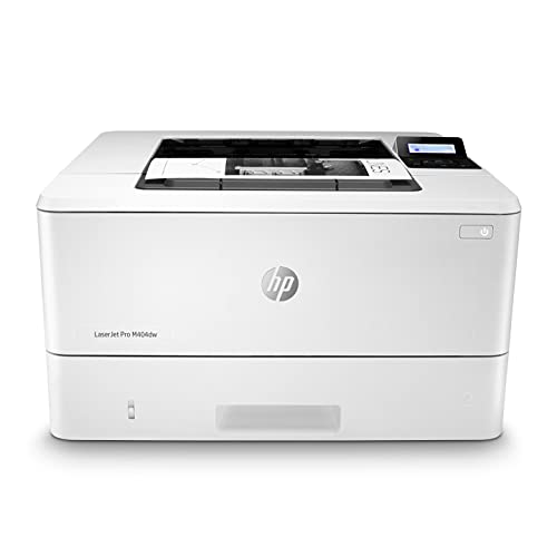 HP LaserJet Pro M404dw Monochrome Wireless Laser Printer with Double-Sided Printing (W1A56A)
