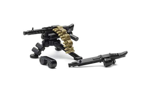 Questo set di armi contiene MG della seconda guerra mondiale del tipo MG34 e MG42 e un supporto corrispondente I caricatori a tamburo sono rimovibili e possono essere sostituiti dal nastro, il carrello può essere smontato Plastica ABS di alta qualità...