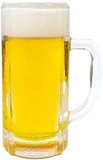 ケイシン 生ビール 中ジョッキ 高さ17.3cm×直径7.7cm(フェイクフード 食品サンプル お酒 生中 ビアグラス アルコール 日本製 装飾 ディスプレイ オブジェ)