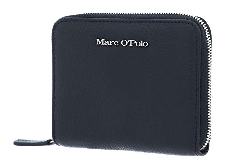 Marc O'Polo Damen Carla Geldbörse, Schwarz (Black), 3x11x14 cm