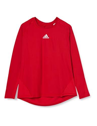 adidas Ask SPRT LST M Camiseta de Manga Larga, Hombre, Power Red