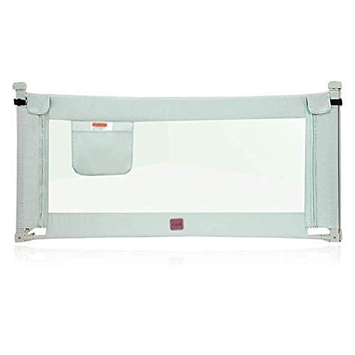 HBWJSH Super-Hochbett-Leitplanke Vertikale Hub-Leitplanken-Sicherung Gegen Absturz Bettgtter (Color : Green, Size : 1.5m)