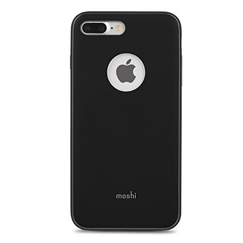 Moshi 99mo090002iGlaze Carcasa para Apple iPhone 7Plus, Color Negro