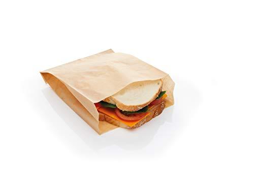 KitchenCraft - Sacchetti per il pranzo in carta oleata, 15 x 25 cm, 30 pezzi