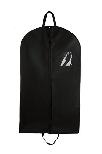 Bags For Less New Breathable 42' Foldover Garment Bags with Handles and...
