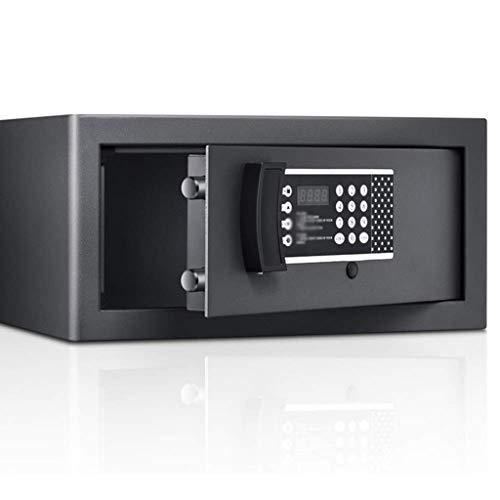 YWSZJ Cajas Fuertes de Acero de bajo Perfil de Seguridad electrónico Contraseña gabinete de Seguridad con el Hotel-Style Digital Lock, Negro
