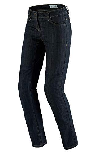 Spidi J-Flex Lady Denim Damen Motorrad Jeans 33 Schwarz/Blau