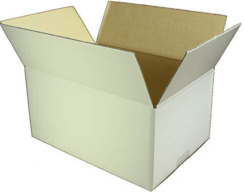 愛パックダンボール ダンボール箱 70(80)サイズ 白 A4対応 100枚 段ボール 日本製 無地 薄型素材