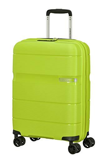American Tourister Linex - Spinner S, Equipaje de mano, 55 cm, 34 L, Verde (Key Lime)