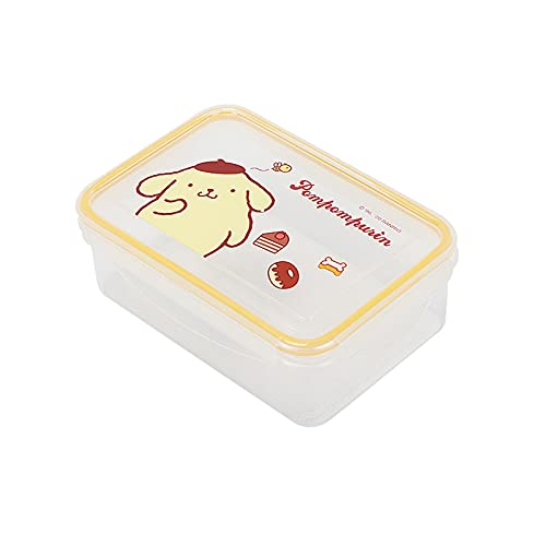 Cinnamoroll Lunch Box Adult Ladies Men Children My Melody Leakproof Eco-friendly Lunch Box Food Storage Jar Pom Pom Purin (Color : Yellow)