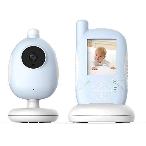 SWEET Moniteur pour Bébé avec Caméra Et Fonction De Vision Nocturne Microphone Et Haut-Parleur 38dB Intégrés Et Technologie Anti-Bruit