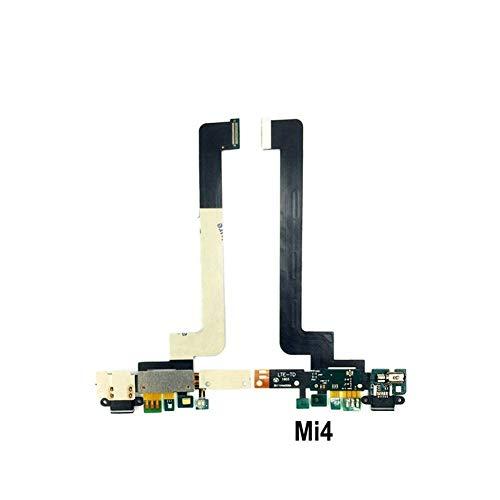 Precisión Nuevo Carga Junta Micrófono Módulo For Xiaomi Mi4 Mi4S Mi4C Mi4i de Carga USB reparación de Piezas de Puerto de la Base Flex Cable Fácil instalación (Color : Mi4)