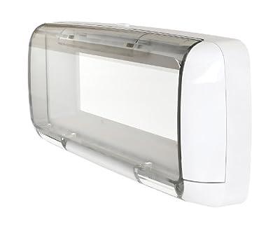 Dual Electronics SG3 Transparent Waterproof Marine Splashguard Radio Housing Unit Single DIN from Dual