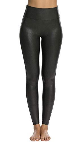 Spanx Faux Leather Leggings (Black, 3X)