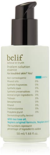 | belif Problem Solution Essence | Hydrating Essence for Acne-Prone Skin | Serum, Blemishes, Clean Beauty