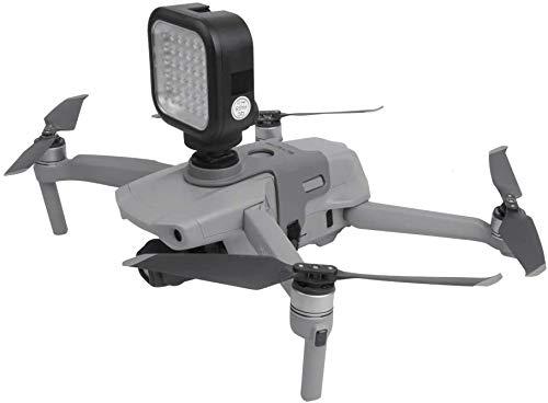 Hensych Multifunzione Fotocamera Sportiva Espansione Montaggio Kit Telecamera Luce di riempimento Titolare Montare Supporto per Mavic Air 2 Drone, per GoPro / Insta360 / OSMO Action / Pocket ECC