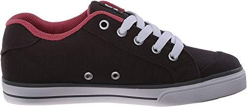 DC Kinder Chelsea Charm TX Skate Schuh (Kleine Kinder/Große Kinder), Pink (Armor/Pink), 17 EU