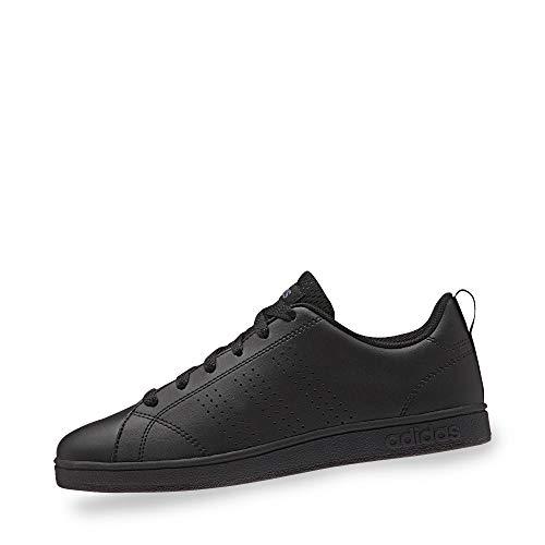 adidas Vs Advantage Clean, Scarpe da Ginnastica Basse Unisex-Bambini, Nero (Core Black/Onix), 37 1/3 EU